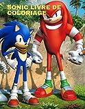 Sonic Livre de coloriage: meilleure page de coloriage pour les enfants et les adultes