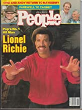 PEOPLE 4/14 1986 Lionel Richie Return to Mayberry Cagney farewell Stryper_