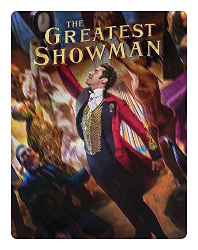 El gran showman Steelbook [Blu-Ray] [Region Free] (Audio español. Subtítulos en español)