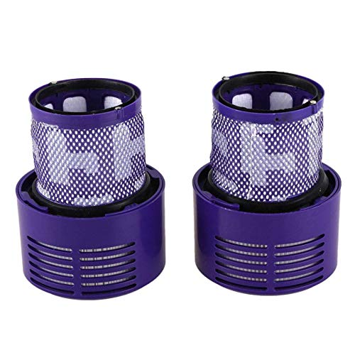 DONGYAO Unidad de filtro lavable para aspiradora V10 SV12 Cyclone Animal Absolute Total Clean (paquete de 2)
