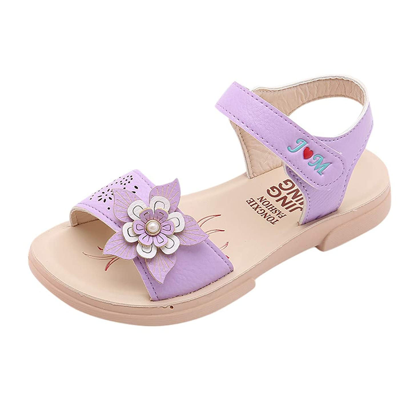 Leisuraly Girls' Dress Shoes Ballet Mary Jane Flat Glitter Shoes for Toddler Little Kids Princess Wedding Party