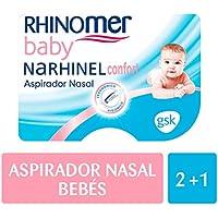 Rhinomer Baby - Narhinel Confort Aspirador Nasal+ 2 recambios blandos desechables