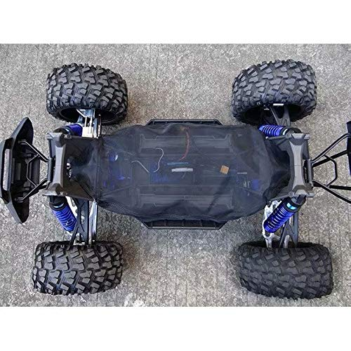 Chassis Dustproof Rock Dirt Resist Guard Cover Black for Traxxas 1/5 X-Maxx XMAXX 6S 8S