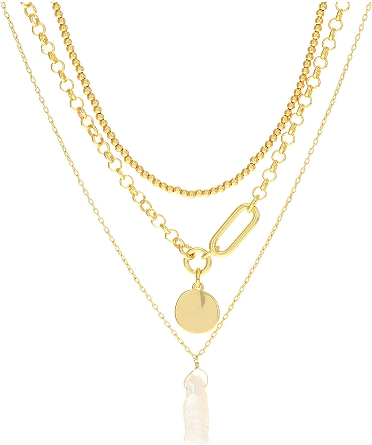 Madewell Café Pearl Layer Necklace