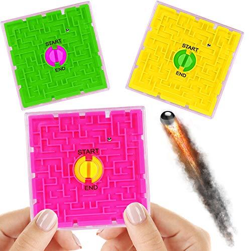 German Trendseller® - 12 x Ultra Maze - 3D Puzzle ┃ Knobelspiele ┃ Klassiker ┃ Mitgebsel ┃ Geduldspiel - Mega Labyrinth - Spiel ┃ 12 Stück