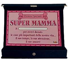 Idea Regalo - Bombo Targa Premio Speciale Mamma
