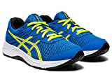 ASICS Kid's Contend 6 GS Running Shoes, 5M, Directoire Blue/Lime Zest