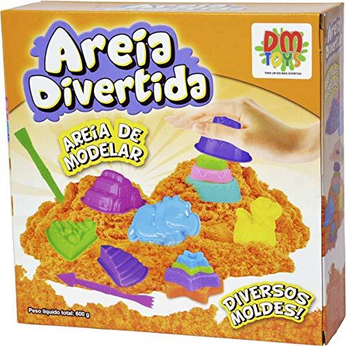 Massa Areia Divertida Dm Toys