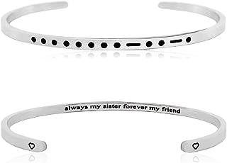 morse code cuff bracelet