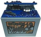 YANGCHENG Godzilla Dinosaurio Piggy Bank-Automatic Cat Robo Tarro De Monedas, Regalo De Cumpleaños De Vacaciones para Niños