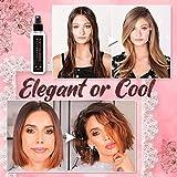 100ML Fluffy Volumizing Hair Spray Pump-Hai Extra-Volume Magic Styling Gel,Hairspray Hair Styling Spray,Strong Hair Styling Gel Contains Dense Hair Fibers Spra