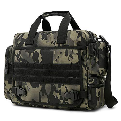 CamGo Taktische Aktentasche 14 Zoll Laptop Messenger Bag Military Style Schultertasche Handtasche für Herren