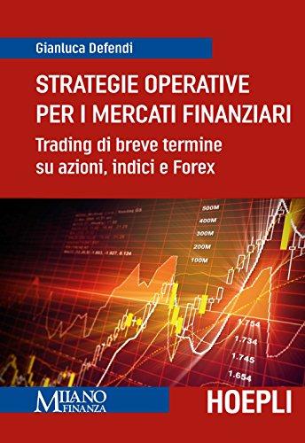 Strategie operative per i mercati finanziari. Trading di breve termine su azioni, indice e Forex