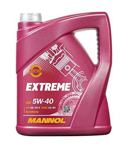 5 Litri MANNOL Extreme Olio 5 W40 per Auto