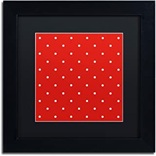 Aria III by Color Bakery, Black Matte, Black Frame 11x11-Inch