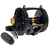 Penn 1292938 Squall Lever Drag 2-Speed Trolling Fishing Reel, 890/50