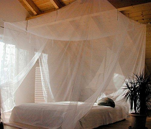 Relags Planche Schneider Lodge Moustiquaire Blanc, One Size