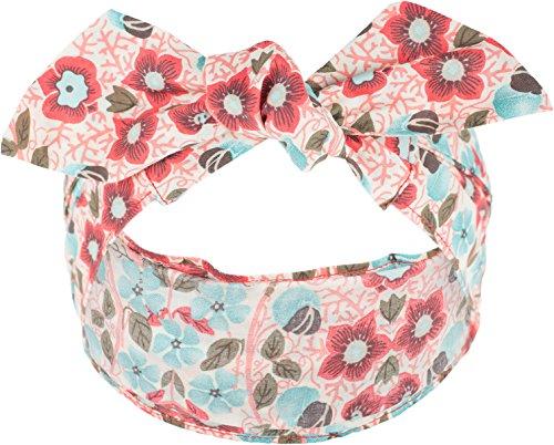 Küstenluder Damen Haarband Tisa Kirschblüten Tuch Länge ca. 80cm, Breite 5cm - 16cm