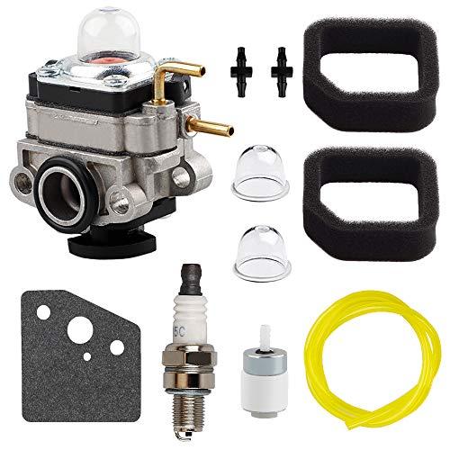 753-06220A Carburetor for 753-06220 Troy Bilt Built TB539ES TB575EC TB590EC String Trimmer with Air Filter Gasket Spark Plug Kit