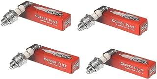 Champion 4 Pack Genuine RCJ7Y Spark Plug Copper Plus 859
