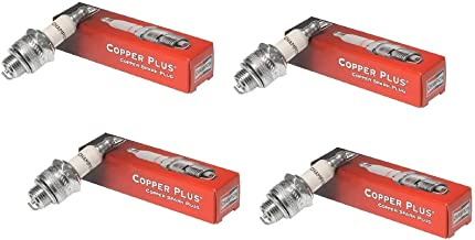 Champion 4 Pack Genuine RCJ7Y Spark Plug Copper Plus 859
