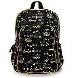 LONECONE Kids' 15' Backpack for Boys & Girls in Preschool, Kindergarten, Construction Zone
