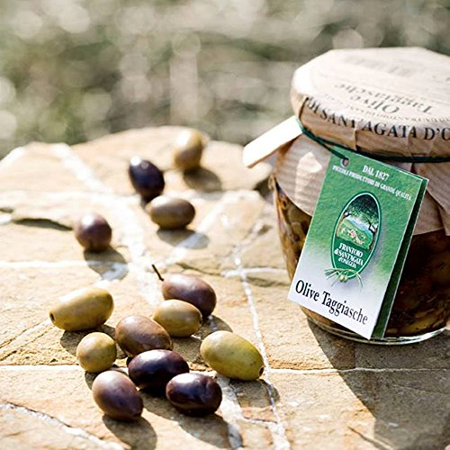 Entkernte Taggiascaoliven in Nativem Olivenöl Extra 260g