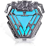 iron arc reactor - coskey Arc Reactor 1:1 Wearable Iron Man MK50 Costume Accessories Avengers Collection Display Endgame Movie Prop Replica Gift