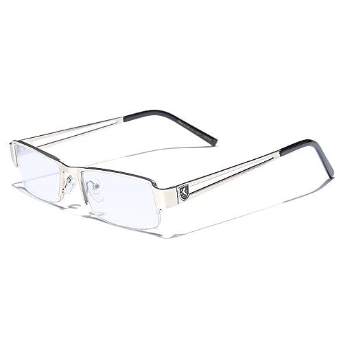 40df193057 Small Rectangular Frame Clear Lens Designer Sunglasses RX Optical Eye  Glasses
