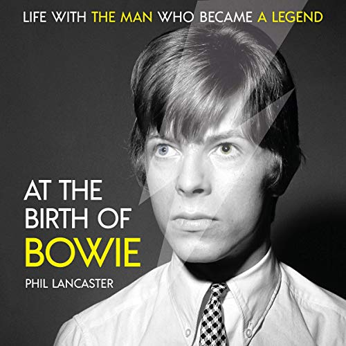 At the Birth of Bowie audiobook cover art