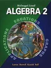 McDougal Littell Algebra 2: Student Edition (C) 2004 2004