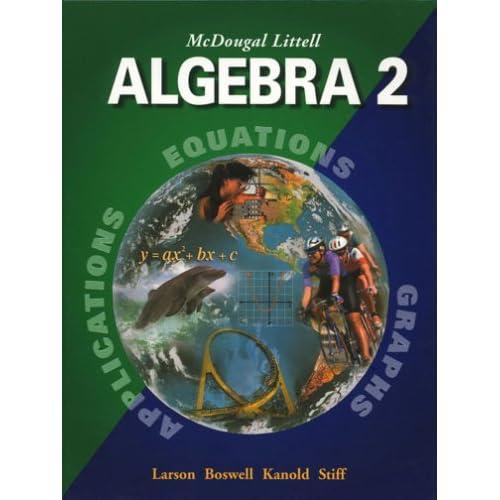 Algebra 2 Textbook: Amazon com