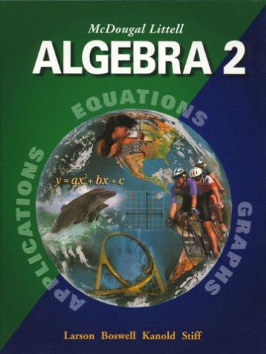 Price comparison product image McDougal Littell Algebra 2: Student Edition (C) 2004 2004