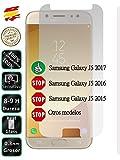 Movilrey Protector para Samsung Galaxy J5 2017 J530 Cristal Templado de Pantalla Vidrio 9H para movil