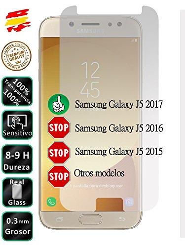 Movilrey Protector para Samsung Galaxy J5 2017 J530 Cristal Templado de Pantalla...