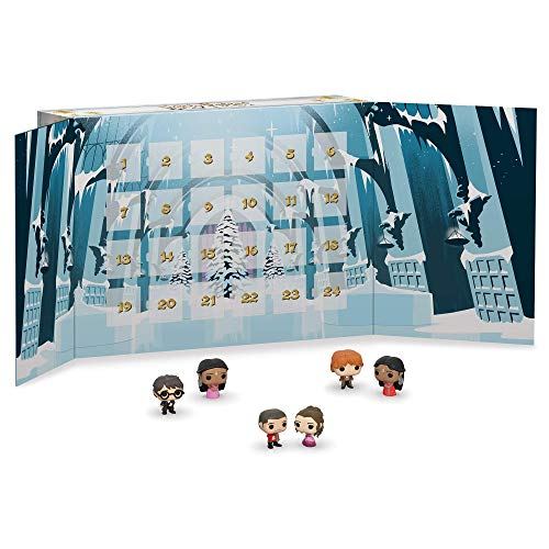 Funko Advent Calendar Saga Harry Potter Calendario Adviento, Multicolor, Estándar (42753)