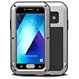 HICASER Galaxy A3 2017 Coque Etanche Preuve de Protection en Aluminium d'Armure Lourde pour Samsung Galaxy A3 (2017) A320 4.7'...