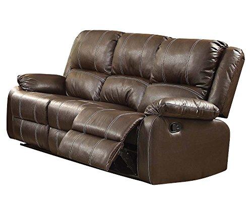 ACME Zuriel Sofa (Motion) - - Brown PU