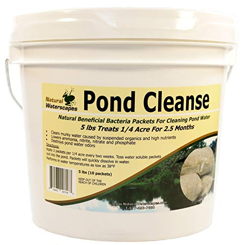 Pond Cleanse Bacteria Packets 5 lb | Good Bacteria, Pond Clarifier