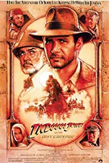 Indiana Jones And The Last Crusade - Movie Poster (Size: 27'' x 40'') (Poster & Poster Strip Set)