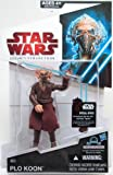 STAR WARS 2009 Legacy Collection BuildADroid Action Figure Plo Koon with Removable Face Mask