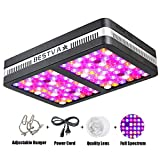 BESTVA 1200W Double Chips LED Grow Light Full Spectrum Grow Lamp for Greenhouse Hydroponic Indoor Plants Veg and Flower