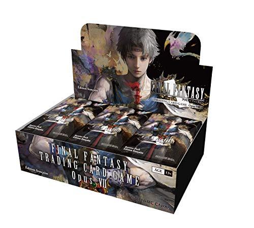 Square Enix Final Fantasy TCG Opus 7 - Caja de 36 boosters franceses - Juego de cartas