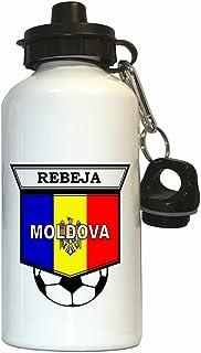 Radu Rebeja (Moldova) Soccer Water Bottle White