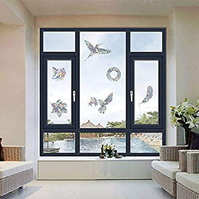 HungMieh Window Decals for Birds Strikes, Anti-...