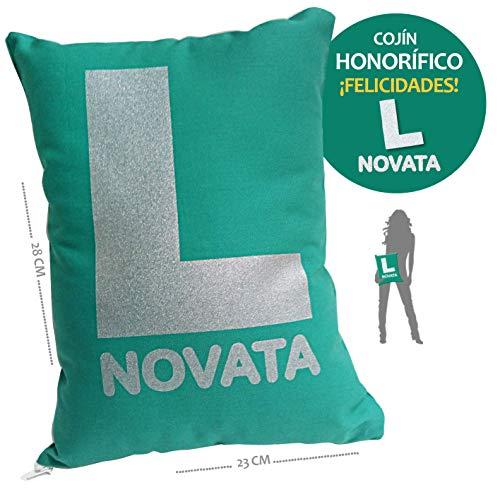 inedit Novata Conductora Novel Cojín - Novata Conductora de Primera Cojín Broma. Regalo Carnet de Conducir