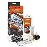 Class-Z Renovateur Phare Voiture Kit, Kit de Nettoyage de phares, Rénovation Optique de Phare Kit de Polissage Lustreur Réparation Headlight Restore Auto