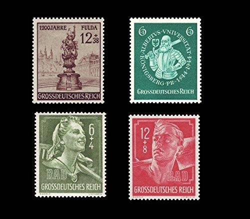 Briefmarken Deutsches Reich 1944, Mi.Nr. 886, 894-896, Postfrisch