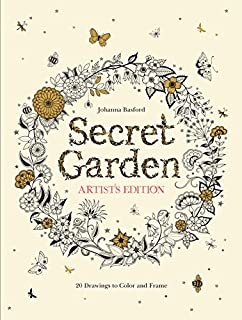 Best Secret Garden Artist Edition: 20 Drawings Review