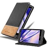 Cadorabo Hülle für HTC Desire 820 in SCHWARZ BRAUN –